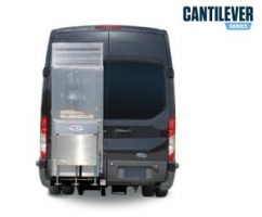 Tommygate Contilever Series_Ford Transit HR_Stowed